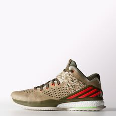 adidas - RG3 Energy Boost Shoes Core Black  /  Pop  /  Earth Green C75859
