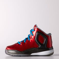 adidas - D Rose 5 Shoes Scarlet  /  Black  /  Aluminum C76266