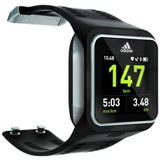 adidas - Micoach SMART RUN Watch Black G76792