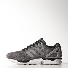 adidas - ZX Flux Shoes Black  /  Aluminum  /  Running White M29093