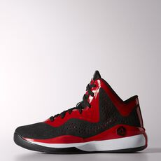adidas - D Rose 773 3 Shoes Core Black  /  Light Scarlet  /  Running White C75801