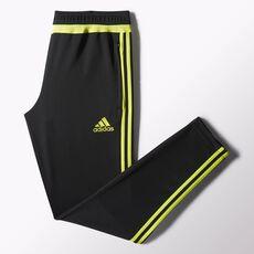 adidas - Tiro 15 Training Pants Black  /  Semi Solar Yellow  /  Black S30158
