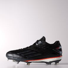 adidas - Energy Boost Icon Cleats Core Black  /  Tech Grey Metallic  /  Infrared D73929