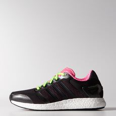 adidas - Climachill Rocket Boost Shoes Night Grey  /  Phantom  /  Neon Pink M18561