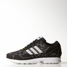 adidas - ZX Flux Weave Shoes Core Black  /  Running White  /  Onix M21361