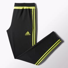 adidas - Tiro 15 Training Pants Black  /  Semi Solar Yellow  /  Black S30158
