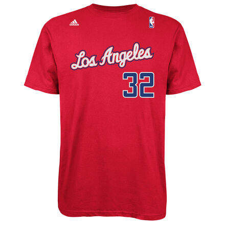 adidas Blake Griffin Clippers Game Time Tee Red