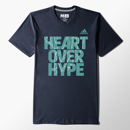 adidas Made in March Graphic Tee COLLEGIATE NAVY - CON