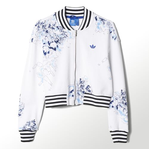 adidas - London Printed Super Track Jacket White S19918