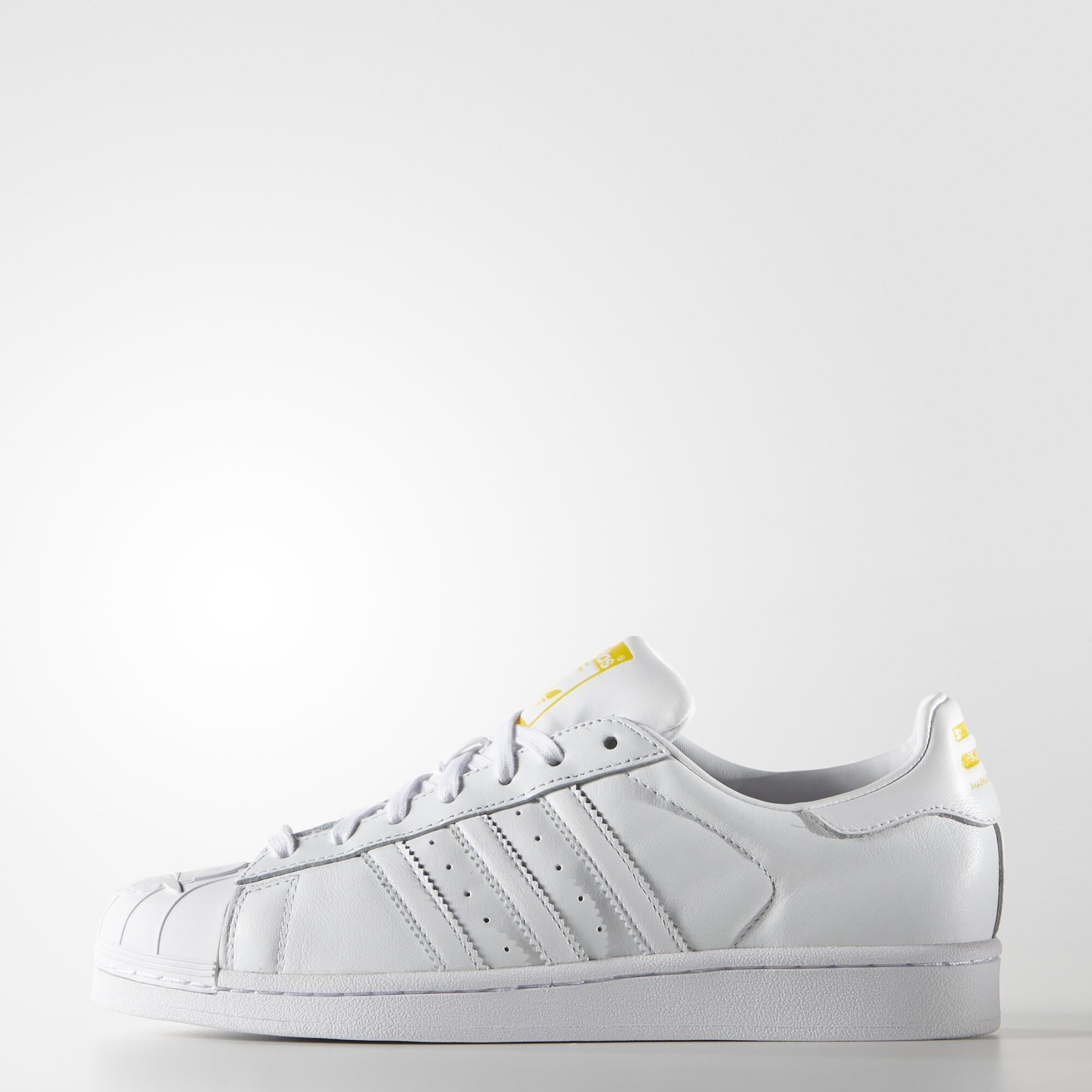 adyuka adidas superstar pharrell supershell schuhe, weiße adidas - usa