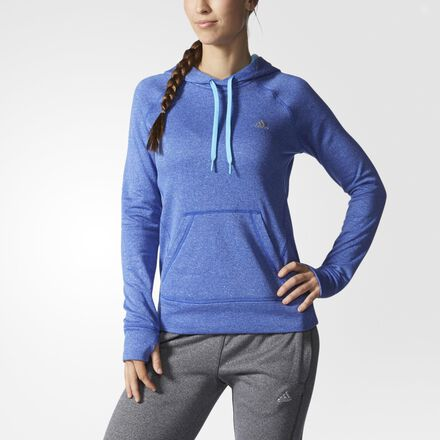 adidas Ultimate Pullover Hoodie Bold Blue