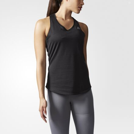 adidas Sequencials Climalite Running Tank Black