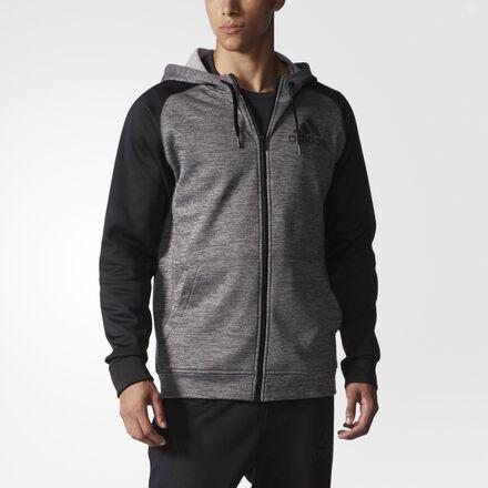 adidas Team Issue Fleece Hoodie Solid Grey