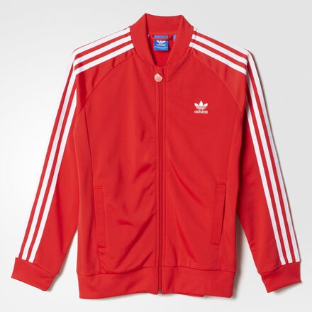adidas Superstar Jacket Tomato