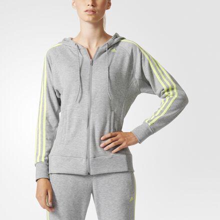 adidas Sport Essentials Hoodie Medium Grey Heather