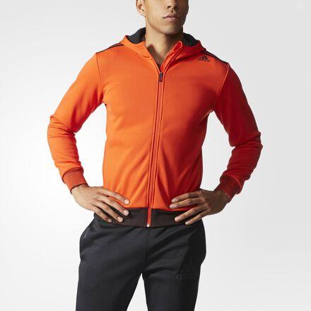 adidas Refresh Climawarm Hoodie Bold Orange
