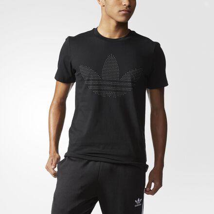 adidas Redefined Logo Tee Black