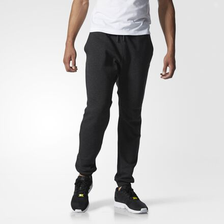 adidas Sport Luxe Cuffed Fleece Pants Black