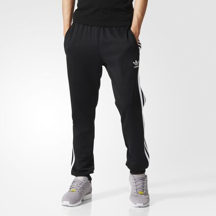 adidas Superstar Cuffed Track Pants Black
