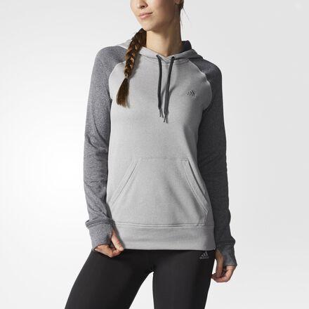 adidas Ultimate Pullover Hoodie Multi Solid Grey