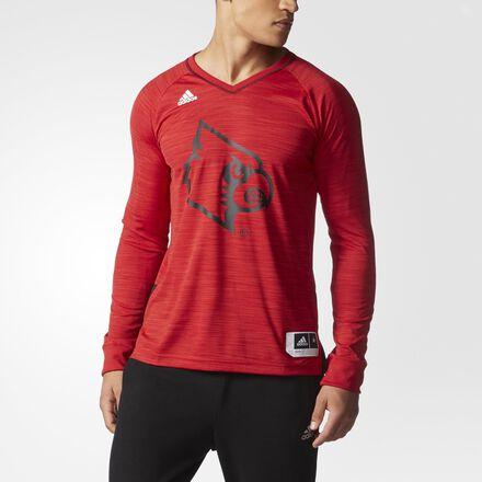 adidas Cardinals On-Court Long Sleeve Shooter Shirt MULTI