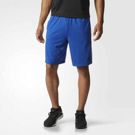 adidas Team Issue 3-Stripes Solid Shorts Collegiate Royal