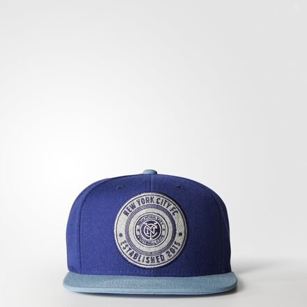 adidas NYCFC Snap-Back Hat MULTI
