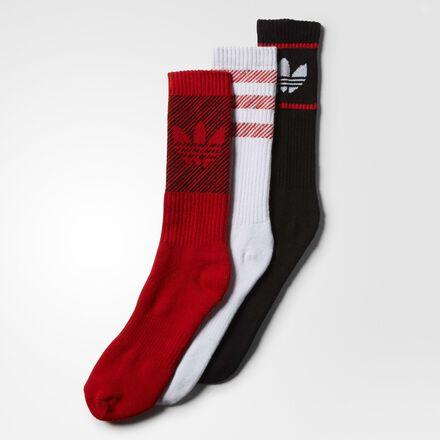 adidas Variety Trefoil Socks 3 Pairs WHITE