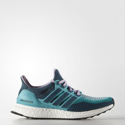 adidas Ultra Boost Shoes Clear Green