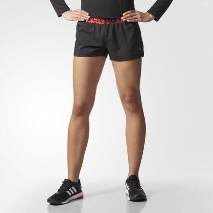 adidas Grete Heat Graphic Shorts Solar Red