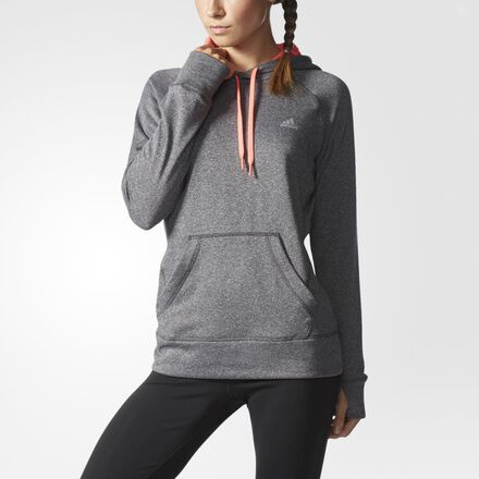adidas Ultimate Pullover Hoodie Solid Grey