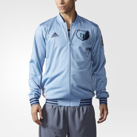 adidas Grizzlies On-Court Warm-Up Jacket MULTI