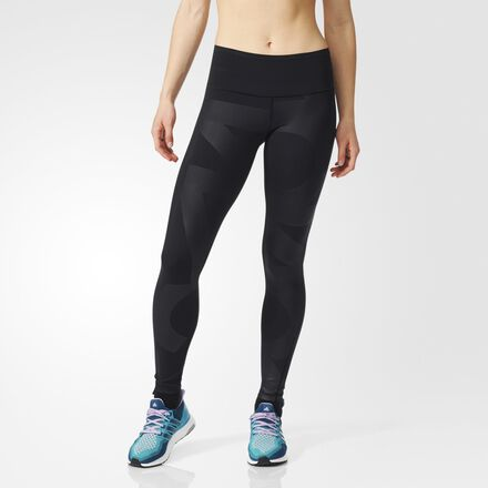 adidas Workout High Rise Long Tight Black | Fitness Blog