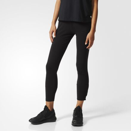 adidas Training Snap Leggings Black