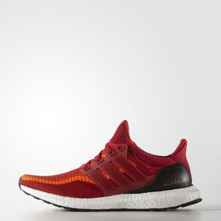 adidas Ultra Boost Shoes Solar Red