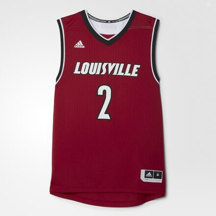 adidas Louisville Road Replica Basketball Jersey MULTI