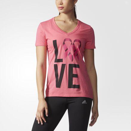 adidas Breast Cancer Awareness Love Tee MULTI