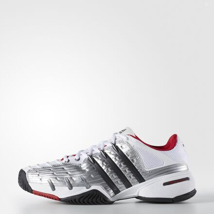 adidas Barricade 5 Classic Shoes Running White Ftw