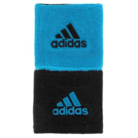 adidas Interval Reversible Wristbands Blue
