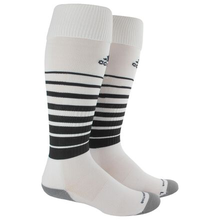 adidas Team Speed Soccer Socks 1 Pair Medium White