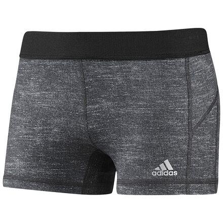 adidas Techfit 3-Inch Boy Shorts Dark Grey Heather