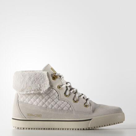 adidas Selena Gomez Taiga Shoes Pearl Grey