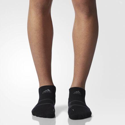 adidas Energy Running No-Show Socks 1 Pair Small Black