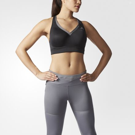 adidas Energy Bra D and DD Cup Black