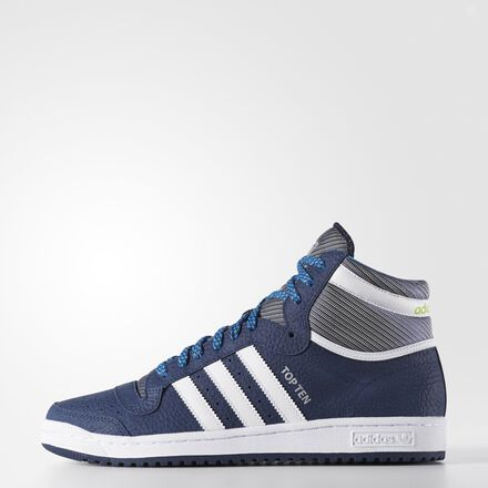 adidas Top Ten Hi Shoes Night Indigo