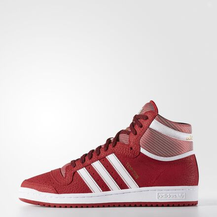 adidas Top Ten Hi Shoes Power Red