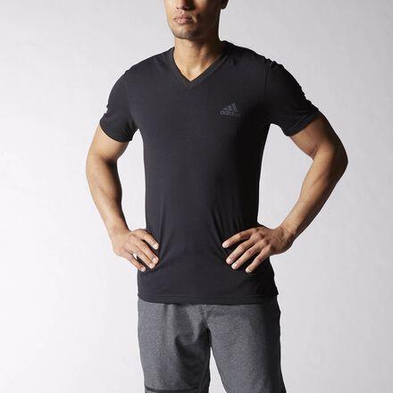 adidas Ultimate V-neck Tee Black