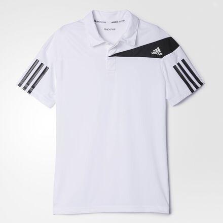 adidas Response Traditional Polo Shirt White