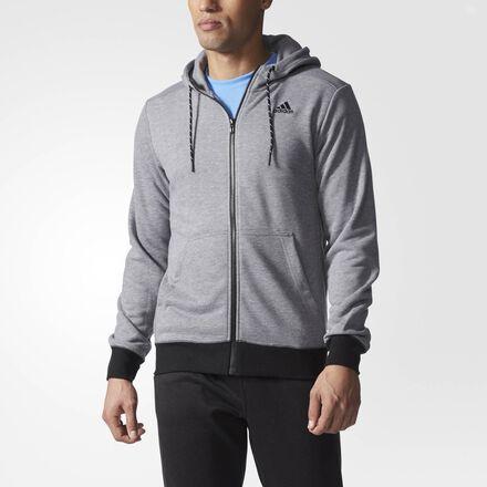adidas Sport Essentials Premium Hoodie Core Heather