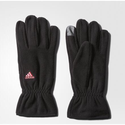 adidas Comfort Fleece Gloves Black